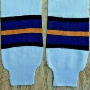 NOS ADULT NHL ICE HOCKEY HOSE SOCKS ST LOUIS BLUES